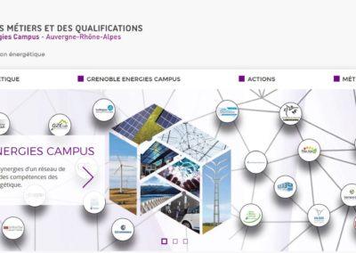 Lancement du site web de Grenoble Energie Campus