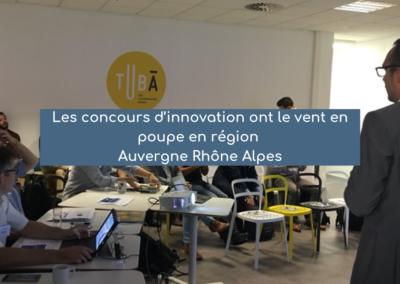 Les concours d'innovation ont le vent en poupe en région Auvergne Rhône Alpes