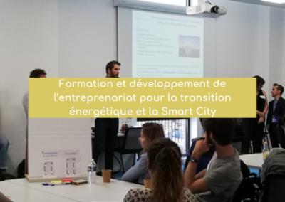 Formation et développement de l'entreprenariat pour la transition énergétique et la Smart City