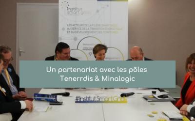 Un partenariat avec les pôles Tenerrdis & Minalogic
