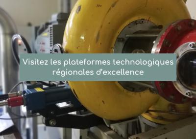 Visitez les plateformes technologiques régionales d'excellence : 19, 26 mars et 2 avril