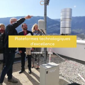 Premières visites des 4 plateformes technologiques d'excellence en région Auvergne-Rhône-Alpes