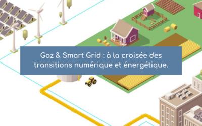 Gaz & Smart Grid : à la croisée des transitions numérique et énergétique.