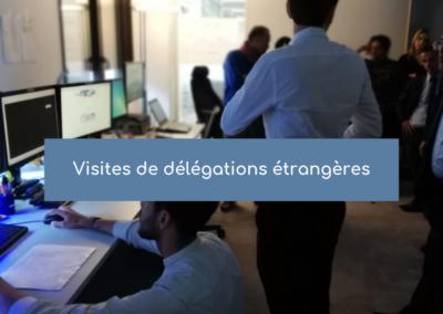 Visites de délégations étrangères