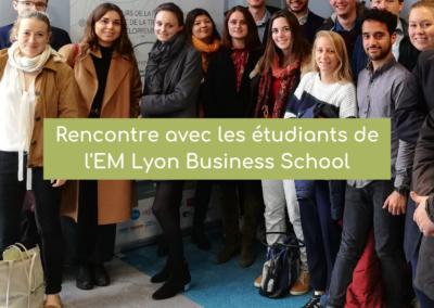 Rencontre avec les étudiants de l'EM Lyon Business School