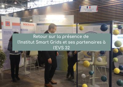 Retour sur la présence de l'Institut Smart Grids et ses partenaires à l'EVS 32